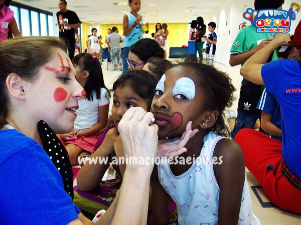 fiestas infantiles a Domicilio en Barcelona