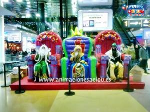 animadores fiestas para niños navidad barcelona