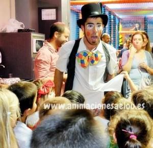 Animadores magos payasos en Sabadell