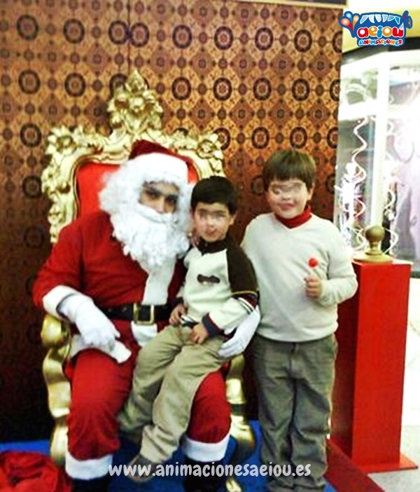 Contratar a Papá Noel en Barcelona