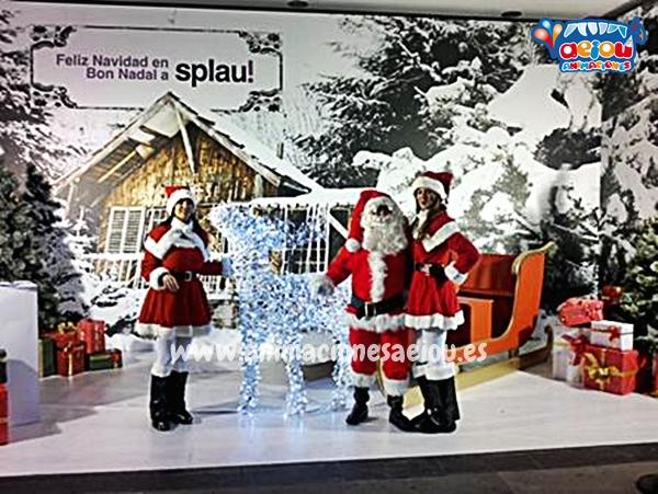 La navidad con Papá Noel en Barcelona