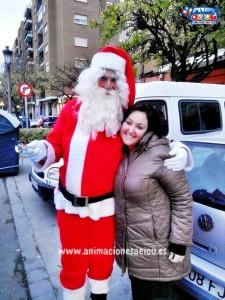 Papá Noel a domicilio en Barcelona