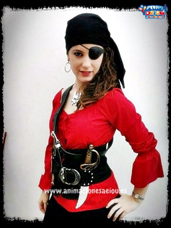 Fiestas temáticas de piratas en Barcelona